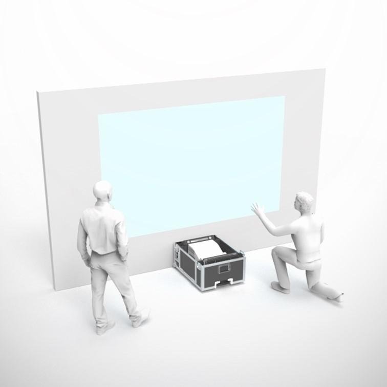 Système immersif VR in a case par Immersion