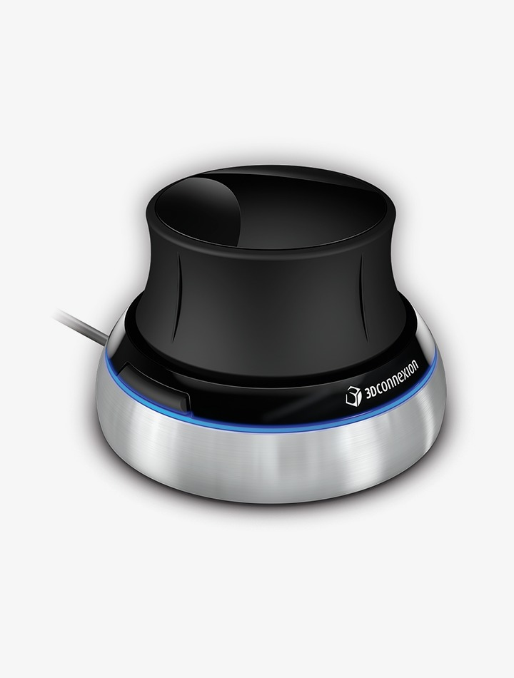 Souris SpaceNavigator pour navigation 3D