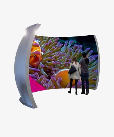 Ecran dôme projecteur Immersavu 300 de Immersive Display