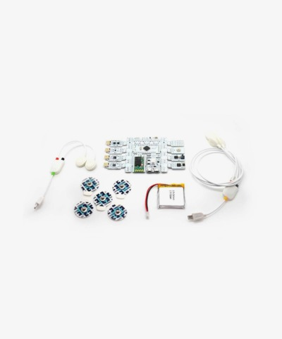 Capteur biométrique ou biofeedback (r)evolution Board Kit Bluetooth de Bitalino
