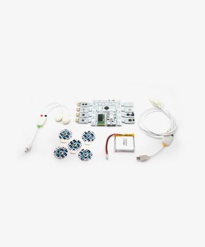 Capteur biométrique ou biofeedback (r)evolution Board Kit Bluetooth de Bitalino