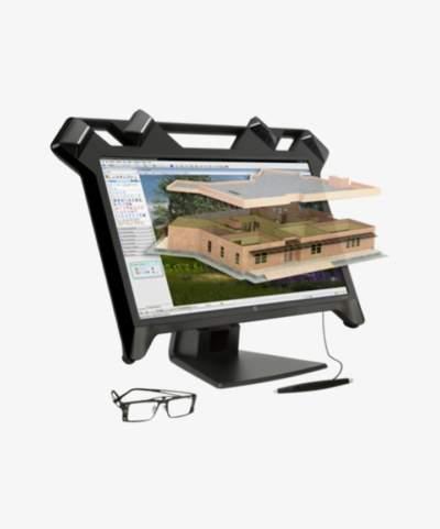 Ecran de réalité virtuelle Zvr de HP