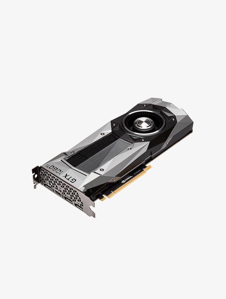 Carte graphiqueGeForce GTX 1080 TI de Nvidia