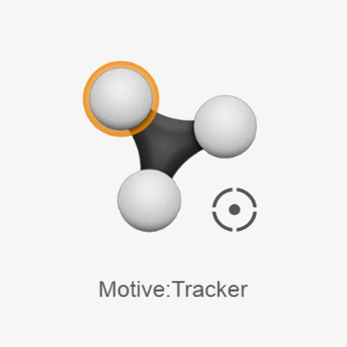 Logiciel de capture de mouvement Motive:Tracker de Optitrack