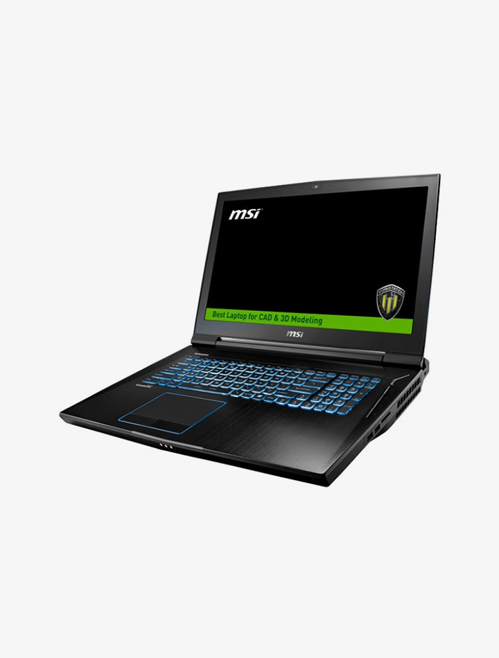 Laptop pour applications VR WT73VR 7RM de MSI