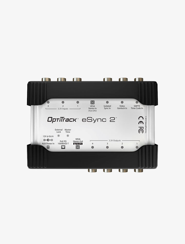 Hub ethernet eSync 2 de Optitrack