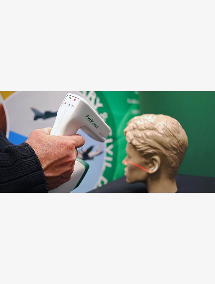 Polhemus Fastscan 2 scanner 3D