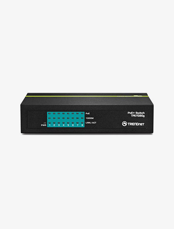 Switch Ethernet TPE TG80G de TRENDnet
