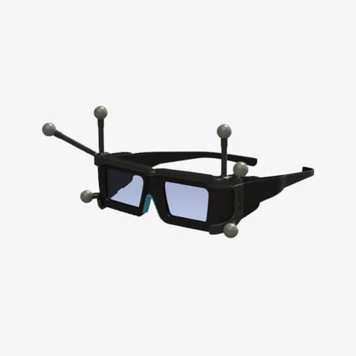 Cibles passives EGT 4 ART por lunettes stéréos Volfoni Edge VR et Edge RF