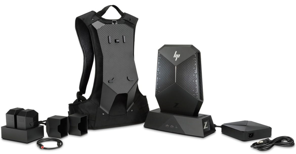 hp z vr backpack