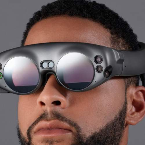 Lunette de réalité Mixte Magic leap
