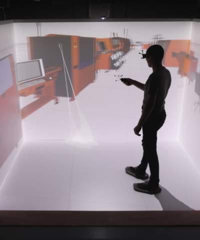 Salle immersive en réalité virtuelle Diiice par Immersion