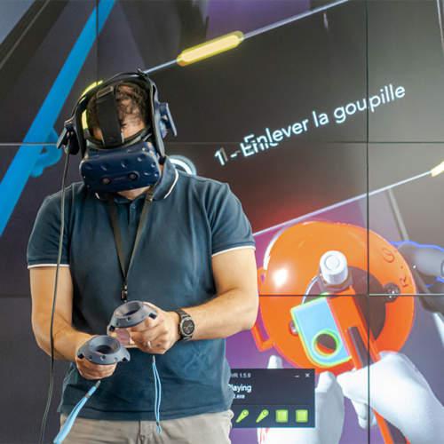 SNCF formation incendie en VR