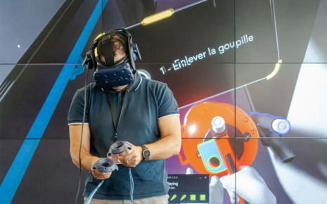 SNCF fire training in VR