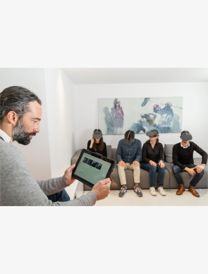 VR4Uniiits, valise VR pour la formation, les événements ou la communication