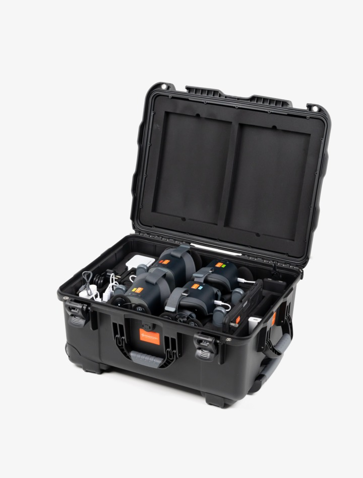 VR4Uniiits, valise VR avec casques Pico