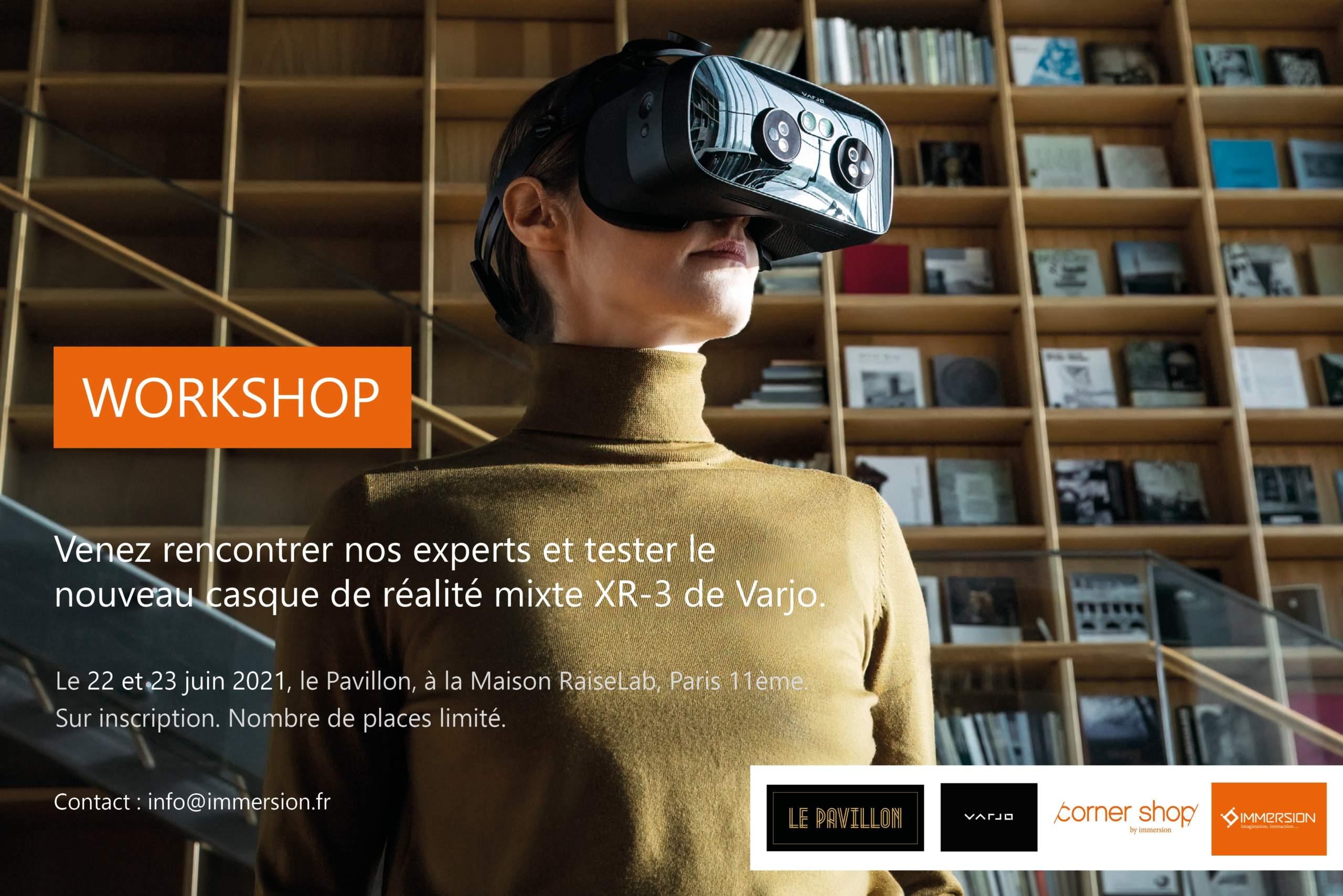 Invitation workshop Varjo XR-3