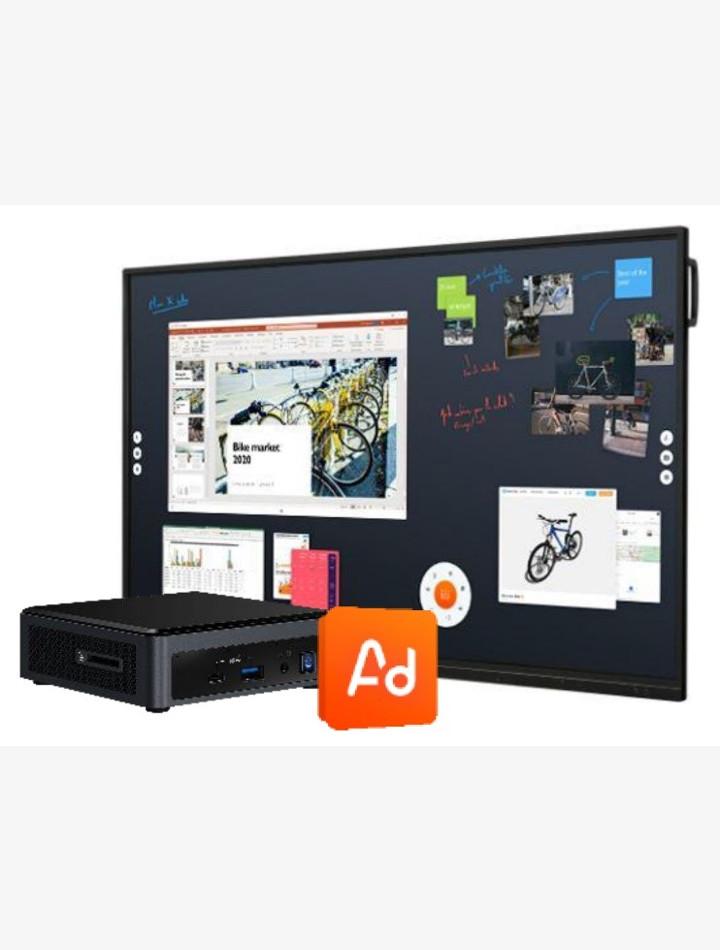 Bundle tableau interactif LG x Shariiing Advanced
