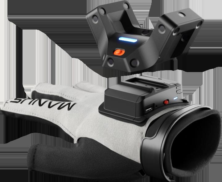 Manus Prime X Haptic VR : système de montage universelle