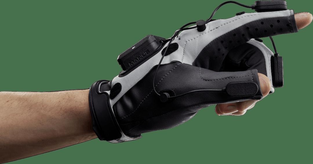 Manus Prime X Haptic VR : retour haptique 2.0